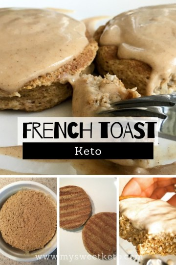 Keto French Toast Recipe. As far as breakfast goes, it has to be prepared quickly, right? Well, all Inclusive Keto French Toast is just the thing! #keto #frenchtoast #ketogenic #recipe