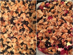 low carb berry cheesepie