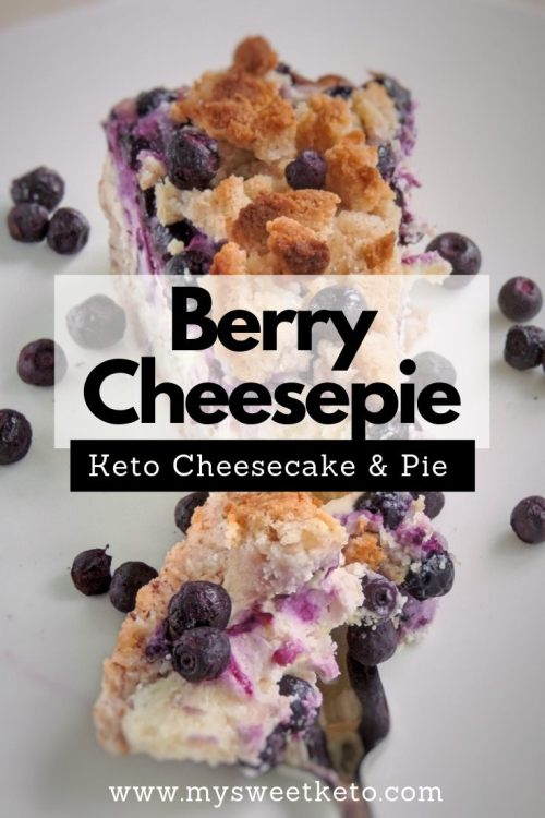Low Carb Berry Cheesepie Recipe. This Low Carb Berry Cheesepie combines all the beauties that spring, turning into summer, brings. #keto #ketogenic #ketodiet #ketodessert #recipe