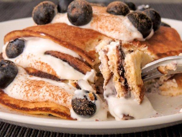 Keto Greek Yogurt Pancakes