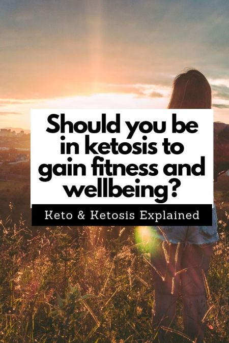 Keto and ketosis explained. Should you be in ketosis to gain fitness and wellbeing. #keto #ketosis