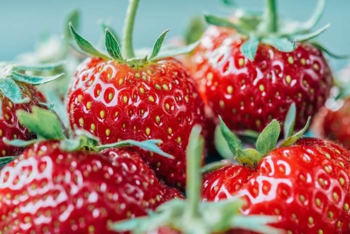 keto strawberry cream