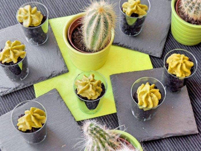 vegan keto avocado mousse
