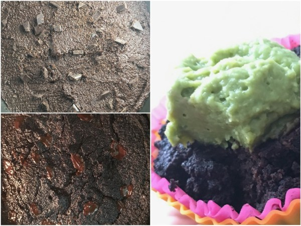 """Let cool on a wire rack. Cupcakes will be crumbly when warm but should become firm once cooled. Try topping the cupcakes with this <a href=""""http://www.mysweetketo.com/recipe/vegan-keto-avocado-mousse/"""" target=""""_blank"""">avocado mousse</a>. Enjoy the vegan keto dessert!"""