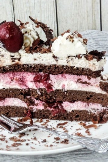 low carb black forest cake recipe