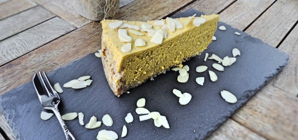Keto-friendly Pumpkin Cheesecake