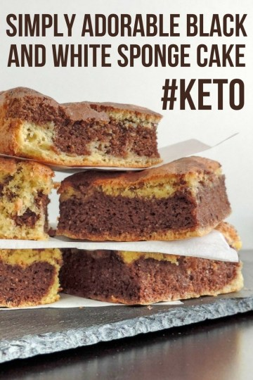 Keto sponge cake recipe does not take much time. It reminds us of Lamingtons. You can always use it as a base for whatever cake you desire to make. #keto #ketogenic #lowcarb #cake #dessert #recipe #mysweetketo