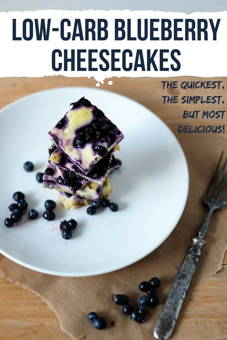 The recipe for delicius keto blueberry cheesecakes is ridiculouslysimple to make, more so if you can get hold of fresh berries. #keto #ketogenic #lowcarb #cheesecake #recipe #dessert #mysweetketo