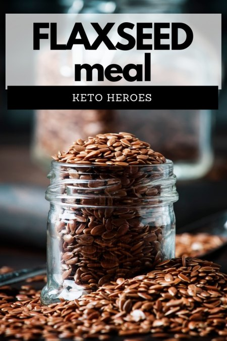 Are flaxseeds suitable on the keto diet? Well, the answer is a resounding YES. #keto #ketogenic