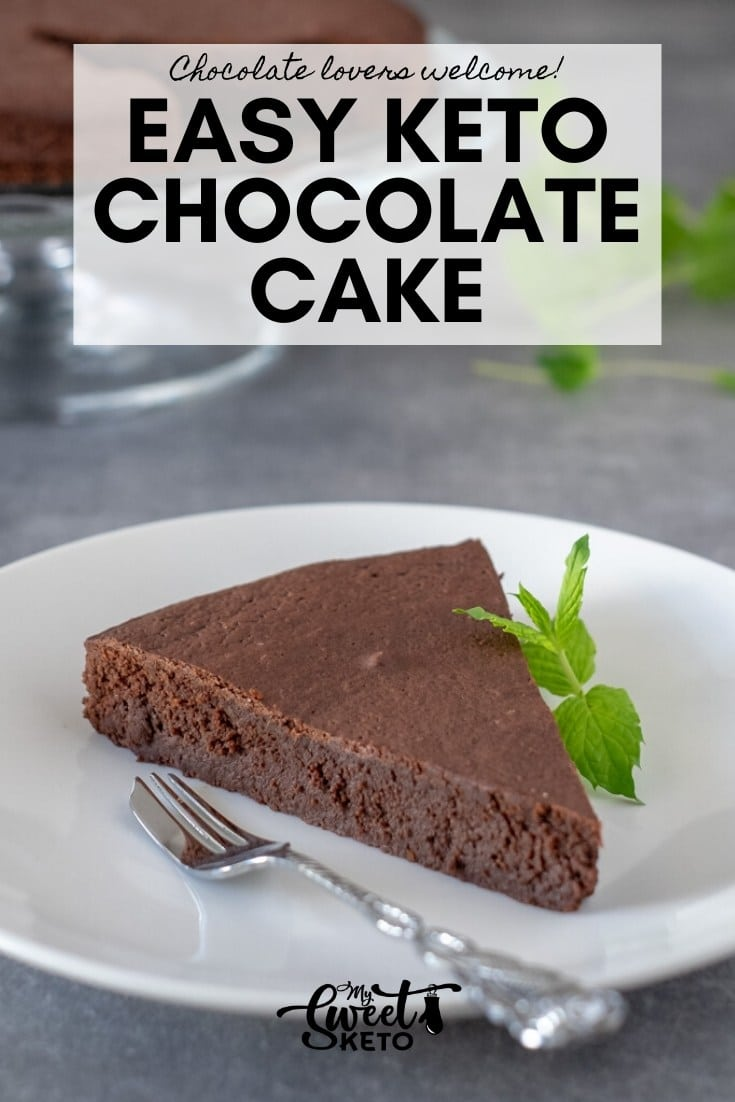 Easy Keto Chocolate Cake Recipe. This keto chocolate cake is super easy to make, using the ingredients you are bound to have around the house.