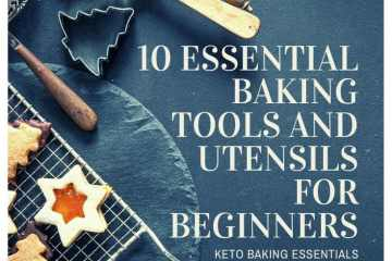 Ten Essential Baking Tools and Utensils for Beginners