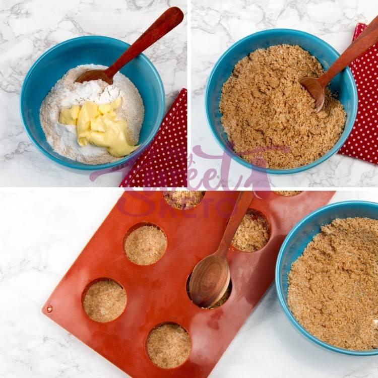 prepared Keto Mini Cheesecakes Recipe