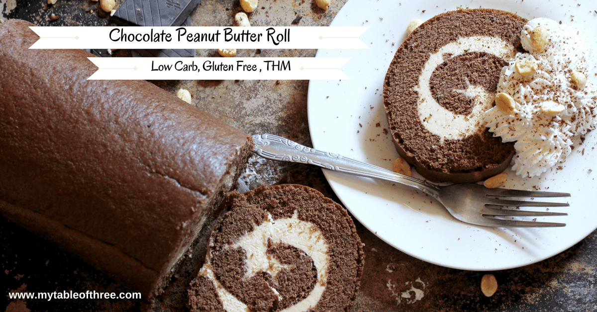 Come Home To Mama Chocolate Cake Recipe: Chocolate Peanut Butter Roll, Low Carb, Gluten Free