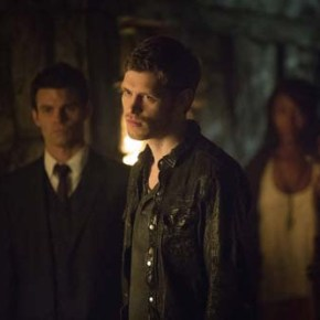 The Originals -- Pictured (L-R): Daniel Gillies as Elijah, Joseph Morgan as Klaus, and Phoebe Tonkin as Hayley -- Image Number: OR420a_0059r.jpg -- Photo: Skip Bolen/The CW -- ©2013 The CW Network, LLC. All rights reserved.