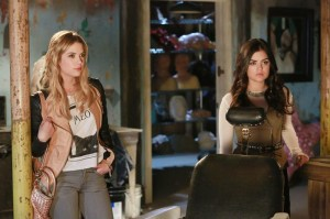 ASHLEY BENSON, LUCY HALE