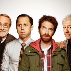 DADS: L-R: Martin Mull, Giovanni Ribisi, Seth Green and Peter Riegert. DADS premieres Tuesday, Sept. 17 (8:00-8:30 PM ET/PT) on FOX. ©2013 Fox Broadcasting Co. Cr: FOX