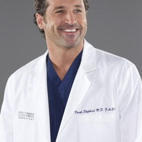 """GREY'S ANATOMY - ABC's """"Grey's Anatomy"""" stars Patrick Dempsey as Dr. Derek Shepherd. (ABC/Bob D'Amico)"""