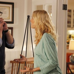 """TROPHY WIFE - """"""""Trophy Wife"""" stars Malin Akerman (""""27 Dresses"""") as Kate, Bradley Whitford (""""The West Wing"""") as Pete, Michaela Watkins (""""Saturday Night Live"""") as Jackie, Natalie Morales (""""90210"""") as Meg, Ryan Scott Lee (""""Super 8"""") as Warren, Bailee Madison (""""Once Upon a Time"""") as Hillary, Albert Tsai (""""How I Met Your Mother"""") as Bert and Marcia Gay Harden (""""Into the Wild,"""" """"Damages"""") as Diane. The series was created by Sarah Haskins & Emily Halpern and is loosely based on Haskins' real life. They serve as executive producers alongside Lee Eisenberg & Gene Stupnitsky (""""The Office""""). Malin Ackerman is a producer. The pilot was directed by Jason Moore (""""Pitch Perfect,"""" """"Avenue Q""""). """"Trophy Wife"""" is produced by ABC Studios."""" (ABC/Peter """"Hopper"""" Stone)"""