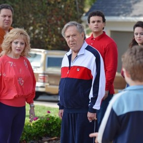 "THE GOLDBERGS - ""The Goldbergs"" stars Wendi McLendon-Covey (""Bridesmaids"") as Beverly, Jeff Garlin (""Curb Your Enthusiasm"") as Murray, George Segal (""Don't Shoot Me"") as Pops, Hayley Orrantia (""The X Factor"") as Erica, Sean Giambrone as Adam and Troy Gentile (""Good Luck Chuck"") as Barry. ""The Goldbergs"" was written and executive-produced by Adam F. Goldberg (""Breaking In,"" ""Fanboys"") and also executive produced by Doug Robinson. The pilot was directed by Seth Gordon (""Identity Thief,"" ""Horrible Bosses""). ""The Goldbergs"" is from Adam Sandler's production company, Happy Madison, and is produced by Sony Pictures Television.  (ABC/Eric McCandless)"