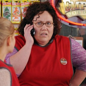"LUCKY 7 - What would you do if you won the lottery? How would it change your life? Follow a group of seven gas station employees in Queens, New York, who have been chipping into a lottery pool for years, never thinking they'd actually win. They need to be careful what they wish for, because while the money could solve problems for each of them, it will forever change the close-knit bonds these friends have formed, in ABC's new drama, ""Lucky 7,"" which will premiere TUESDAY, SEPTEMBER 24 (10:00-11:00 p.m., ET) on ABC.  (ABC/John Medland)"