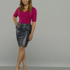 "CASTLE - ABC's ""Castle"" stars Tamala Jones as Medical Examiner Lanie Parish. (ABC/Bob D'Amico)"