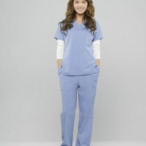 "GREY'S ANATOMY - ABC's ""Grey's Anatomy"" stars Camilla Luddington as Jo Wilson. (ABC/Bob D'Amico)"