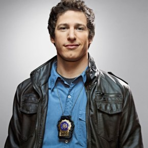 BROOKLYN NINE-NINE: Emmy Award winner Andy Samberg as Detective Jake Peralta in the new single-camera workplace comedy BROOKLYN NINE-NINE premiering this fall on FOX. ©2013 Fox Broadcasting Co. Cr: Patrick Eccelsine/FOX