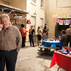 "PARKS AND RECREATION -- ""London"" Episode 601/602 -- Pictured: Jim O'Heir as Jerry Gergich -- (Photo by: Colleen Hayes/NBC)"