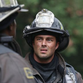 "CHICAGO FIRE -- ""A Problem House"" Episode 201 -- Pictured: Taylor Kinney as Kelly Severide -- (Photo by: Elizabeth Morris/NBC)"