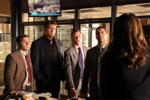 JOSHUA BITTON, NATHAN FILLION, SEAMUS DEVER, JON HUERTAS, STANA KATIC