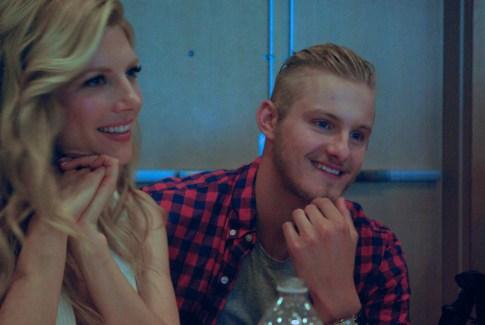 "Katheryn Winnick (Lagertha), Alexander Ludwig (Bjorn ""Ironside"" Lothbrok)2"
