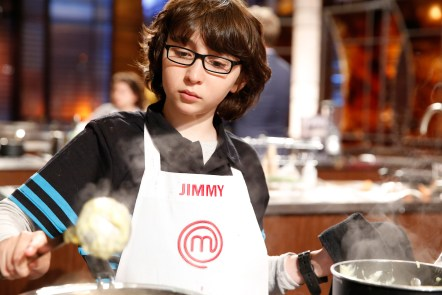 """MASTERCHEF: Contestant Jimmy during in the all-new """"Junior Edition: Creme De La Creme"""" episode of MASTERCHEF airing Tuesday, Feb. 17 (8:00-9:00 PM ET/PT) on FOX. CR: Greg gayne / FOX. © 2014 Fox Broadcasting."""