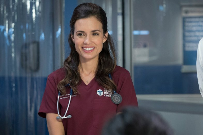 "CHICAGO MED -- ""Natural History"" Episode 202 -- Pictured: Torrey DeVitto as Natalie Manning -- (Photo by: Elizabeth Sisson/NBC)"