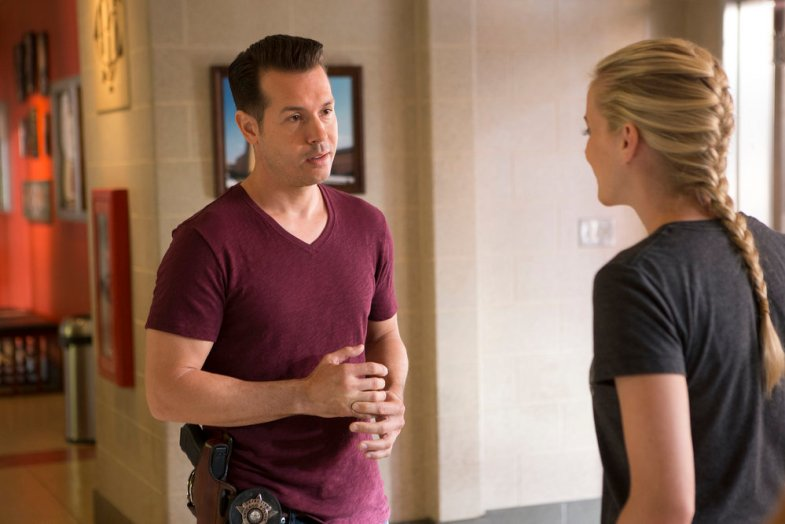 """CHICAGO FIRE -- """"Scorched Earth"""" Episode 503 -- Pictured: Jon Seda as Antonio Dawson -- (Photo by: Parrish Lewis/NBC)"""