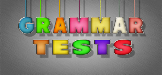 english grammar tests