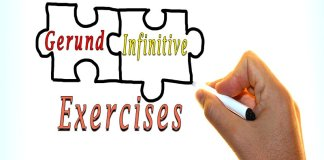 Gerund Infinitive exercises