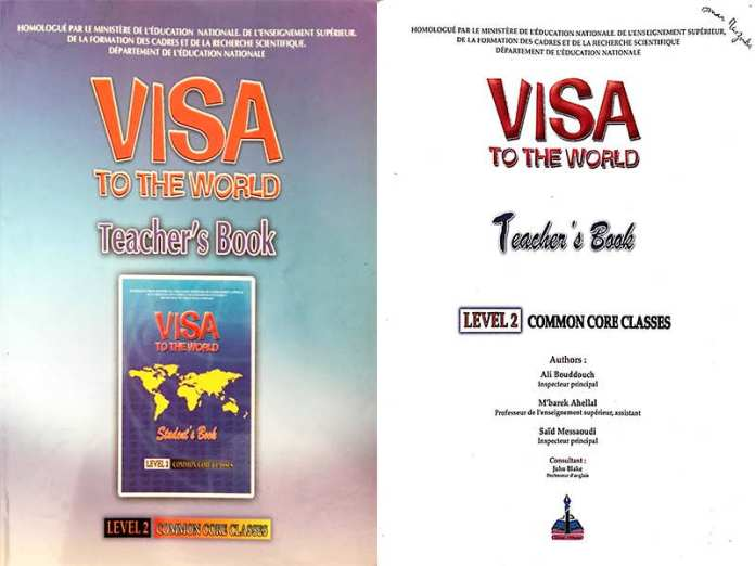 Visa To the World Teacher Book