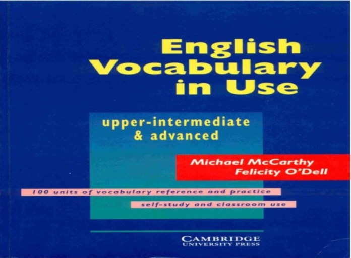 English Vocabulary in Use - Upper-Intermediate and Advanced