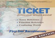 Ticket to English 1 Workbook