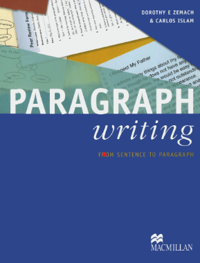 Paragraph Writing from Sentence to Paragraph pdf