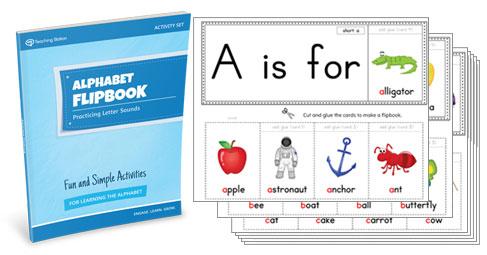 Alphabet Flipbook Activity Set