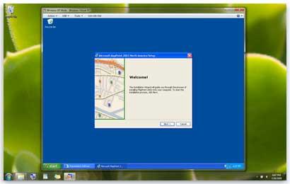 Installing a program in Windows XP Mode