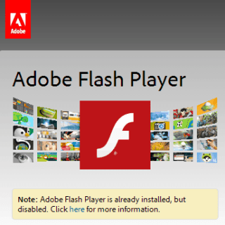 adobe flash plugin disabled in chrome