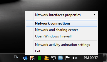 netanimate - get classic network activity in windows