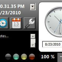 Clock and Calendar Application