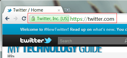 Secure Twitter.com access