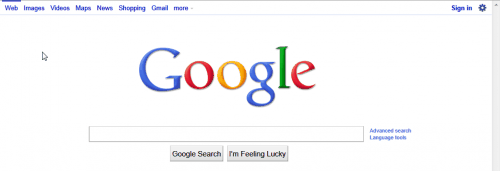 google-white-nav-bar-back