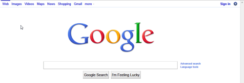 google-white-nav-bar-back