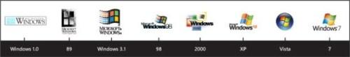 History of Windows logos