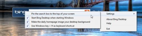 Bing-Desktop-Options